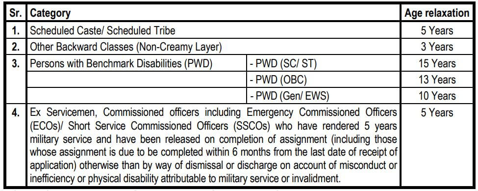 Probationary Officers Job - SBI Age Relaxation